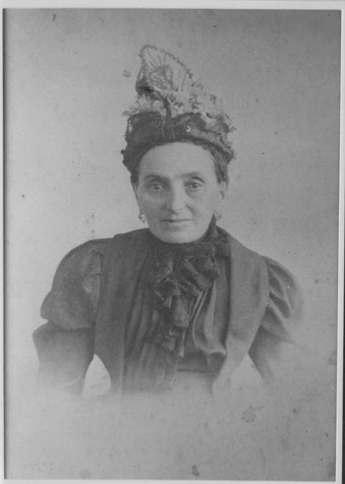 Johanna Goldberger née Oesterreicher (1837-1904) mother of Betti/Blumele
