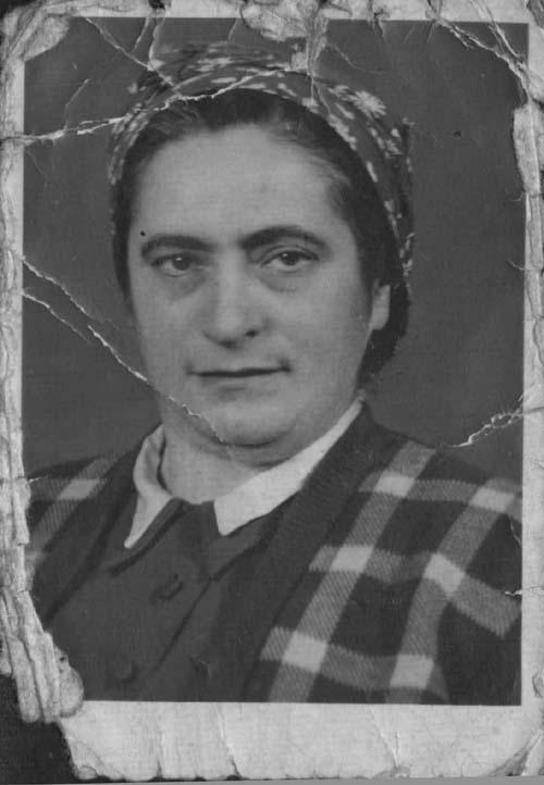 Rosa Oesterreicher née Schotten.