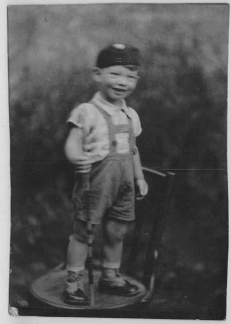 Tibor (Tibi) Weiss, Budapest, August 1940